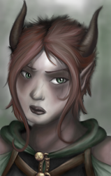 Venalin RPG Portrait by turtlegirlman