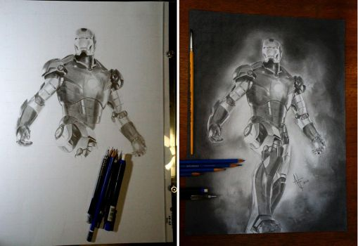 Iron Man by AntonioNT