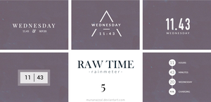 Raw Time Pack 5 [New Pack] by MunaNazzal