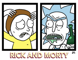 Rick and Morty by theEyZmaster