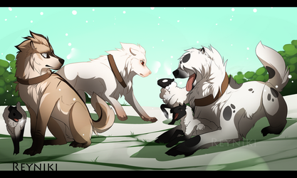 RoM: Herding Sheep by Reyniki
