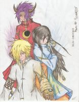 FE:Shard of Memories - Acerbus, Cipher, Eve by reishinigami13