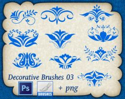 Decorative Brushes 03 by roula33