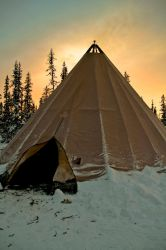 tent by summer