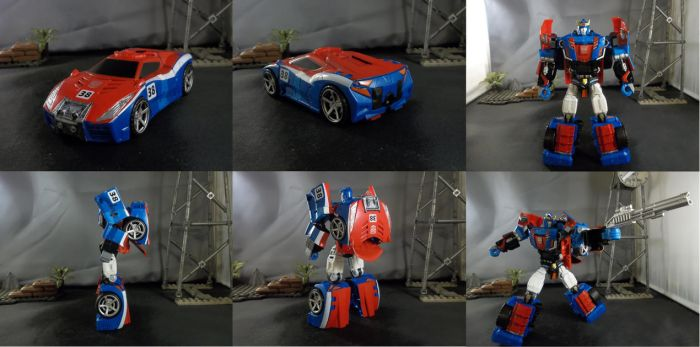 Combiner Wars Smokescreen by Zigholtul88
