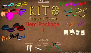KITO- 91 Items Package II Download by Some-Art