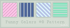 Funny Colors vol.9 Pattern by ThulaMarquise