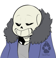 Undertale: Sans just being Sans by Red-Fox92