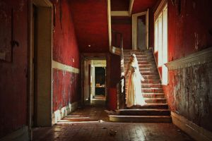 White Lady in Red Palace by Lady-Schnaps