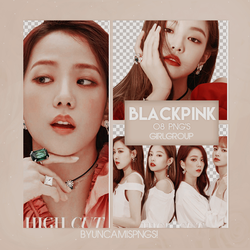 [PNG PACK #72] BLACKPINK by fairyixing