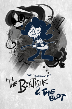 Technicolor OCT: The Beatnik and the Blot [Title] by LlamaDoodle