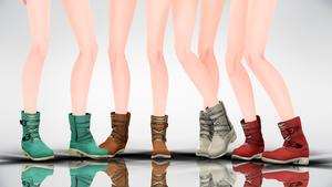 MMD TheiaBoots DL by AuroraYok