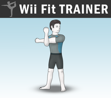 SSB4 - Wii Fit Trainer (Male) by Antonator