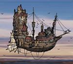A Floating Township by hesir