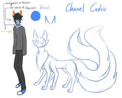 doodle fantroll - Chasel Cedric by yuhhei4666