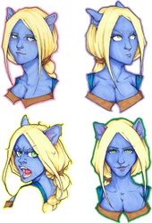 Bust Sale: Kitonet by bunnystick