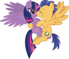 Flash Sentry and Twilight Sparkle by benybing