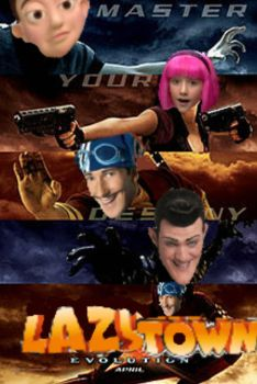 Lazy Town Evolution by The-Daily-Maff