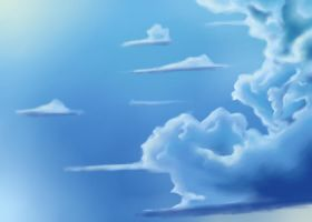 More Clouds by SS-Snowy