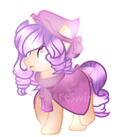 .: Commission :. AppleFlower - Base Edit by Candy-Heartswirl