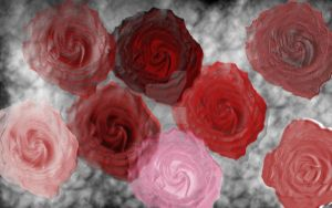 Roses and Smoke version 2 by HeavenlyLifestyle