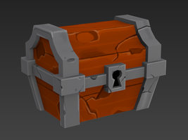 Spelunky Chest WIP 3 by meatfortress