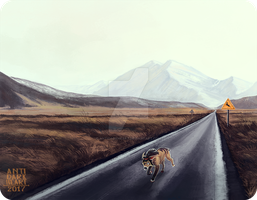 Open Road Ollie - Commission by Anti-Dark-Heart
