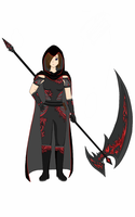 The Scythe User by FantasyArt99
