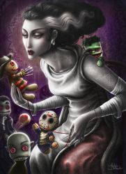 The bride dollmaker... by Medusa-Dollmaker