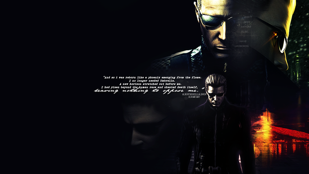 Albert Wesker Wallpaper by ilsirya