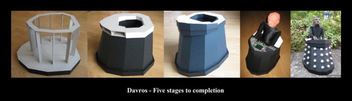 Davros Build by SWD-Tigercat