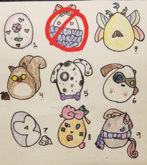Egg adoptions!!! (OPEN) 5pts Each
