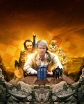 Doctor Who - The Five Doctors (Clean Art/Poster) by GrantBattersby