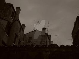 Roof top sight II, darker by uselesshumanwaste