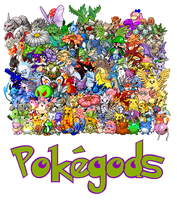 The Pokegods by RobertoVile