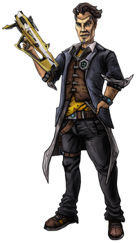 Handsome Jack by Yggdrassal
