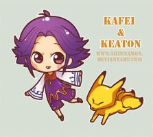 Kafei and Keaton by CplSquee