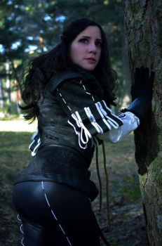 Yennefer of Vengerberg from The Witcher 3 cosplay by LauraLunaMun