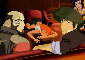 Cowboy Bebop 3 color by Fayeuh
