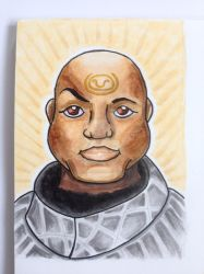 Teal'c Marker Sketch