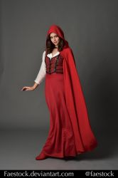 Red riding hood  - Stock model reference 4 by faestock