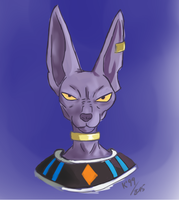 Lord Bills! (Beerus) by kosko99