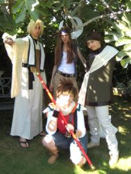 The Infamous Sanzo Party by n1njap1rate