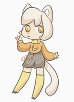 Banana Kemonomimi [AUCTION] [CLOSED] by alliemews