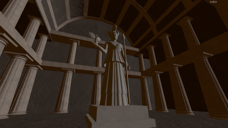 Athena Night by uemeu-official