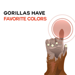 Animal Facts - Gorillas and Color by ProjectCornDog