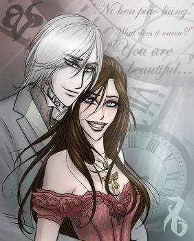 Jem and Tessa, The Infernal Devices by erryCherry