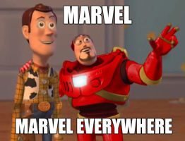 MARVEL Everywhere by zubuki