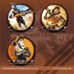ReCore: Definitive Edition icons by BrokenNoah