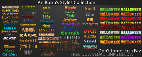 Anilcorns Styles All-in-one by AnilCorn